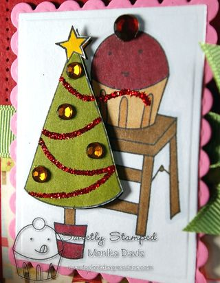 Sneak peek card-close up