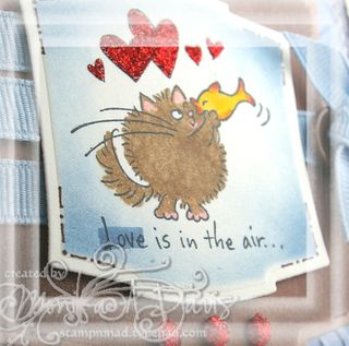 Fluffles-love is in the air-close up