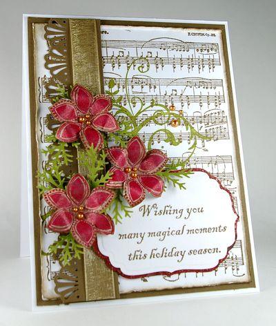 Wishing you... shimmer flowers
