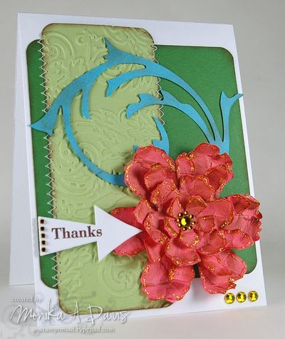 TH-Tattered Flower CPS card
