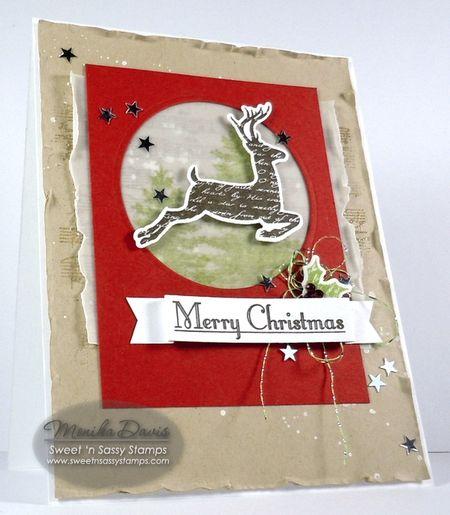 ChristmasSilhouettesDeer