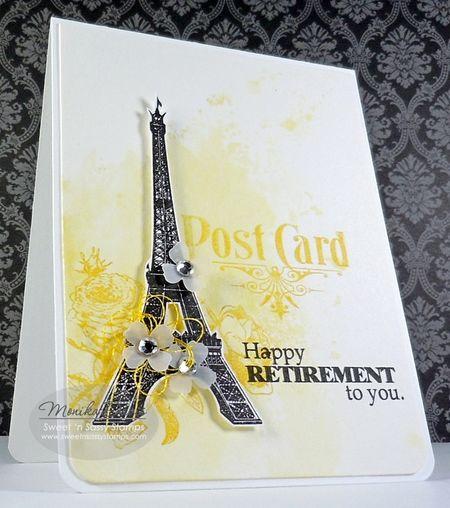 ParisianPostYellowBlack