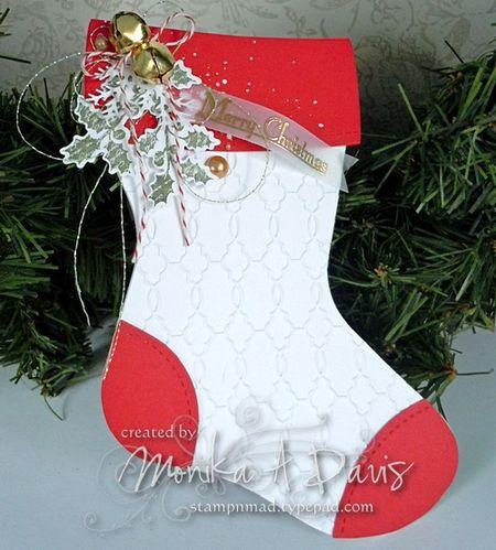 ChristmasSilhouettesStocking
