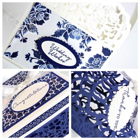 Elegant Floral Gift Packaging Trio SP