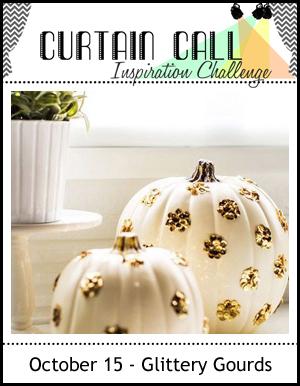 Glittery gourds 101516