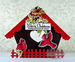 ChristmasBirdHouse