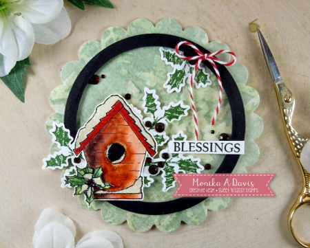 SeasonsGreetingsBirdhouseCircle