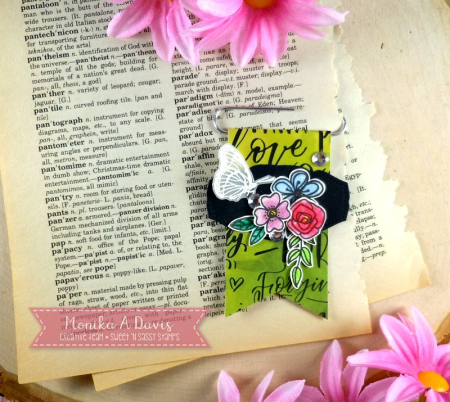 IttyBittyBlossomsPaperClipBookmark