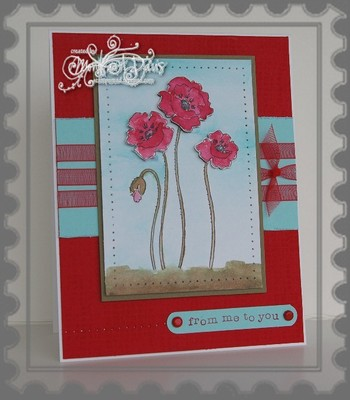 Stampendous_poppieswatercolored_wfr